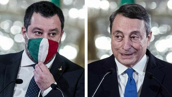 """Governo Draghi, Salvini al PD: """"Avremo delle frequentazioni assidue"""""""