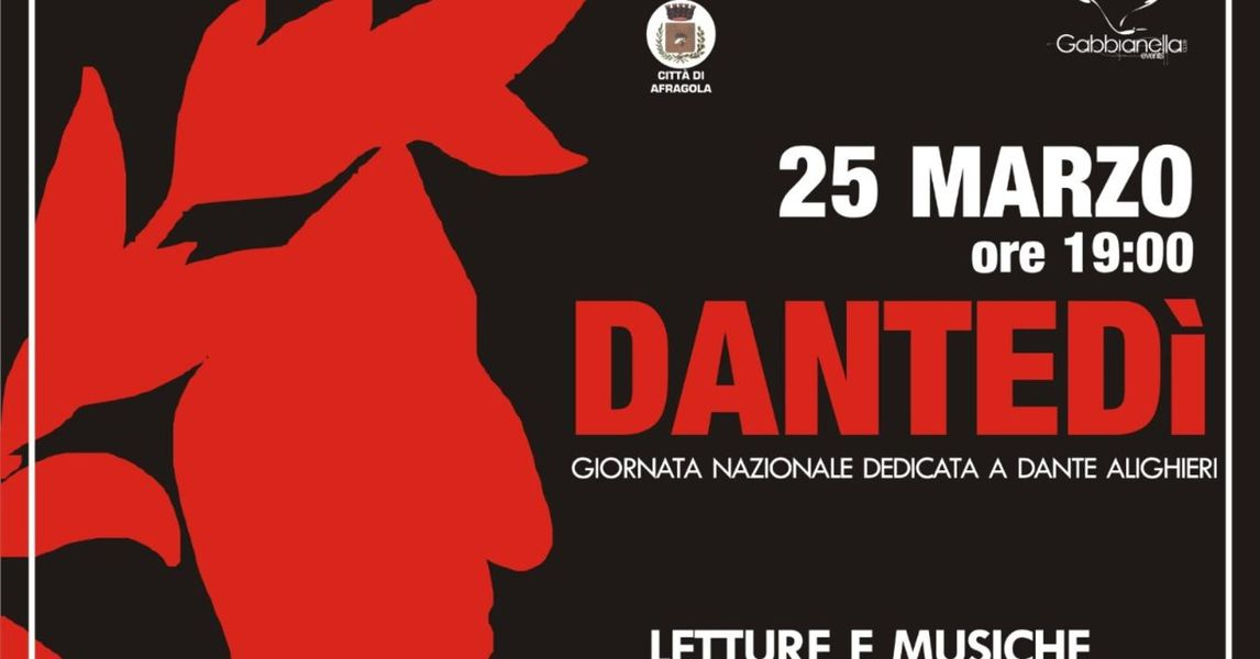 DanteDay al Teatro Gelsomino. Corrado Tedeschi leggerà le opere: seguilo in diretta su ErgoTV