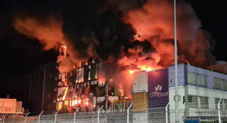 """Datacenter incendiato a Strasburgo: Migliaia di siti """"down"""""""