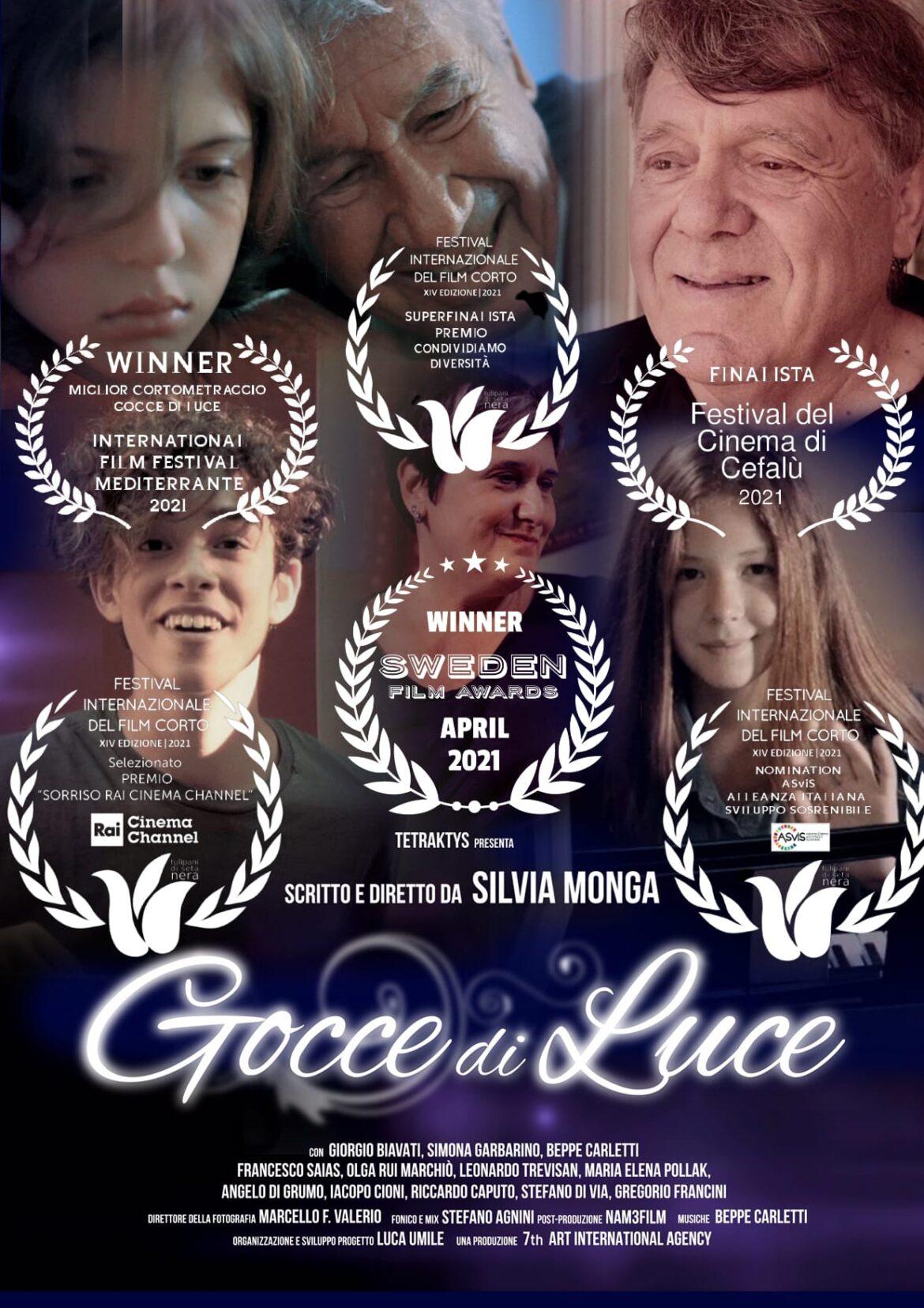 Gocce di luce: il cortometraggio sociale in Primissimo Piano
