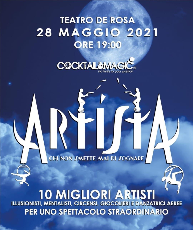 """""""ArtistA"""", magica serata """"insieme"""" al Teatro De Rosa di Frattamaggiore"""