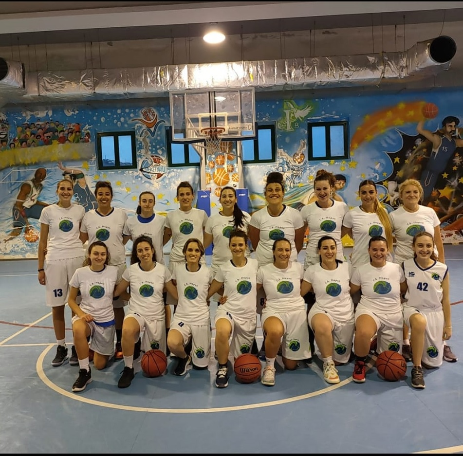 Basket, Serie C Femminile CB NAPOLI – ASD GIVOVA LADIES 65-58