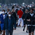 Senza mascherina aperto Italia