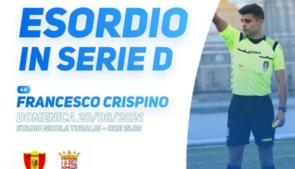 Francesco Crispino, arbitro