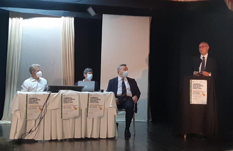 Caivano, presentato il progetto dell'Agea  per contrastare i fenomeni criminali connessi alle attività produttive del settore agroalimentare