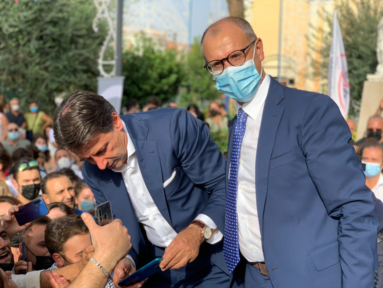 Giuseppe Conte a Frattaminore per Bencivenga [VIDEO]
