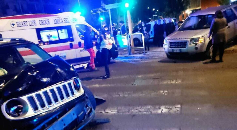 Latina incidente stradale, tre ragazzi in ospedale